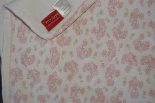 Amy COE Limited Edition Baby Girls Floral Flower Blanket