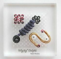 Wigjig Delphi Transparent Jig Wire Bead Jewelry Art Craft Tool