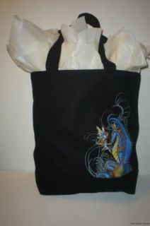 Amy Brown Curiosity Tote Purse Messenger Bag Dragon Fairy Faery