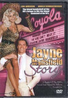 The Jayne Mansfield Story New DVD Loni Anderson Arnold Schwarzenegger