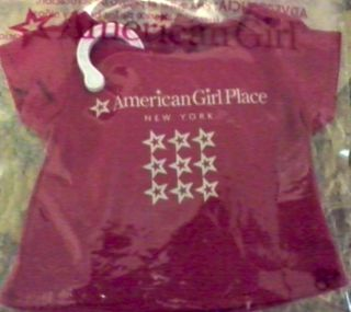 American Girl New York Tee Shirt for Dolls New in Package
