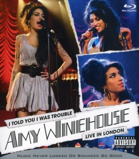 Amy Winehouse I Told You I Was Trouble 2007 Bluray