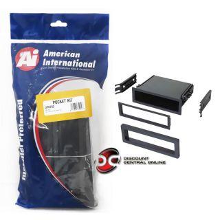 American International Up K750 Car Stereo Single DIN Dash Kit UPK750