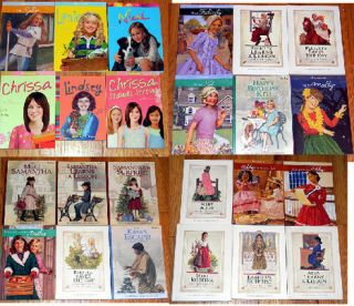 LOT of 24 AMERICAN GIRL DOLL BOOKS Level 4 JULIE Lanie NICKI Addy KAYA