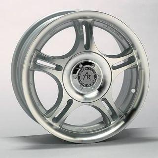American Racing Euro Silver Estrella Wheel 14x6 4x100mm Set of 4
