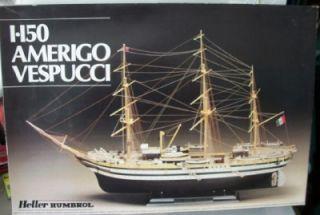 Heller Humbrol Amerigo Vespucci Italian Sailing Ship 1150 MIB