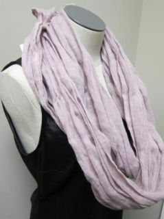 Eileen Fisher Washed Linen Infinity Wrap Scarf Sacht