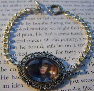 Andy Sixx Black Veil Brides Picture Cameo Charm Bracelet