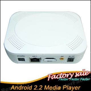 Network Google Android 2 2 Media Player HDMI Google TV BOX Support