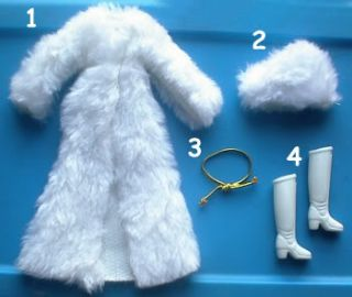 1977 Charlies Angels 9 Cheryl Ladd Hasbro Doll Kris Fur Hat Minty