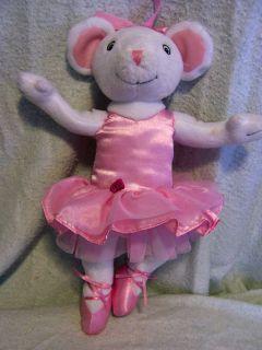 Girl 15 Craig Holabird ANGELINA BALLERINA Plush Doll 2005 Sabba Toys