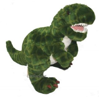 Toys R US Animal Alley T Rex Dinosuar Plush Stuffed Animal Standing