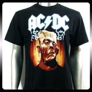 AC DC Angus Young Punk Rock Music Band T Shirt Sz XL