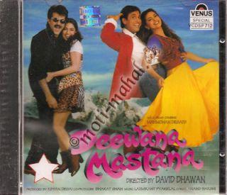 Deewana Mastana Anil Kapoor Juhi Chawla Salman Khan Bollywood Music CD