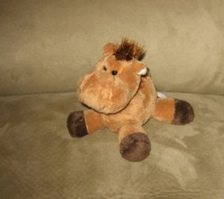 Cute 6 Animal Alley Baby Pony Stuffed Plush Soft Toy