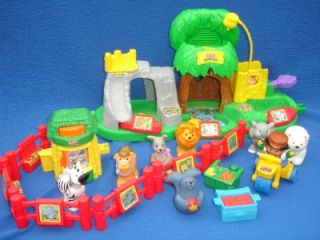 Fisher Price LITTLE PEOPLE Zoo Sounds & Baby Animals Petting Playsets