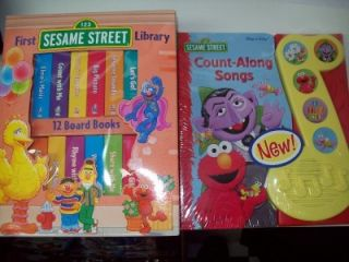 First Sesame Street Library 12 Board Books