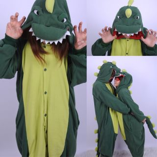 New Japan Anime KIGURUMI Guangu Dinosaur One Piece Cosplay Costume