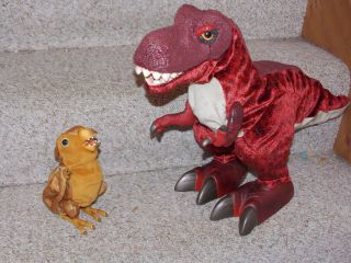 Large Walking Dinosaur Animated w Sounds Kota Pals MONTY Baby