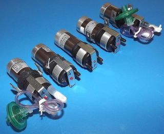 Lot 5 Andros HPLC Small Pump Vacuum / Pressure With Escape Motor M1026