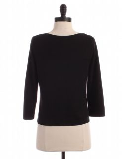 Ann Taylor Black Silk Cashmere Blend Cardigan Sz s Top Sweater Shirt