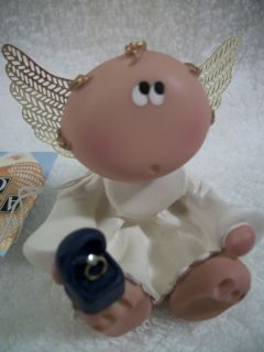 Angel Cheeks Proposal Figurine Will You Marry Me  Tag and Free Gift