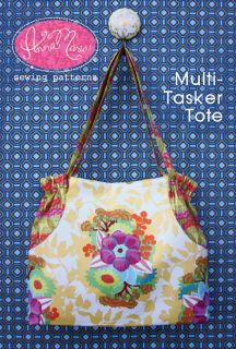 Anna Maria Horner Pattern Multi Tasker Tote Purse Bag DIY Women Sewing