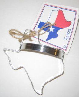 Ann Clark Ltd State of Texas Shaped Cookie Cutter Metal Cutter