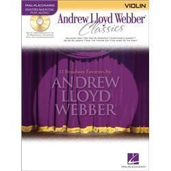Hal Leonard Andrew Lloyd Webber Classics for Violin Book CD
