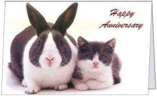Anniversary Love Humor Couple Parents Funny Cute Greeting Card by
