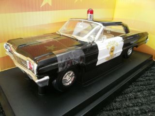 Ertl American Muscle Chevy Impala Ankeny Police Dept.1964 Diecast 1/18