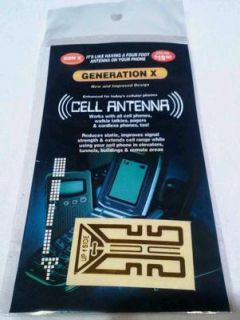 Cell Phone Antenna Signal Reception Booster Smartphone All Cell Phones