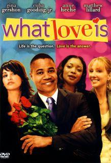 What Love Is DVD 2008 Anne Heche Gina Gershon Mars 043396243385
