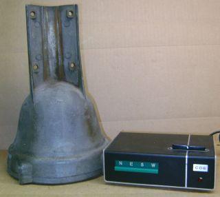Vintage TR2C Antenna Rotor Rotator TR2 C Control Box 8 Wire Ham CB
