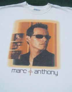 Marc Anthony 2002 Tour XL Concert T Shirt
