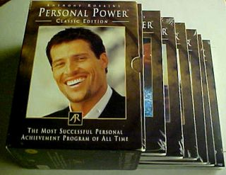 Anthony Robbins PERSONAL POWER Complete 7 New Sealed CD Set Classic
