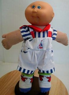 Sweet Marc Anthony 1980s Cabbage Patch Bright Blue Eyes