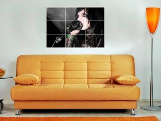 Andy Sixx 35x25 Mosaic Wall Poster Black Veil Brides
