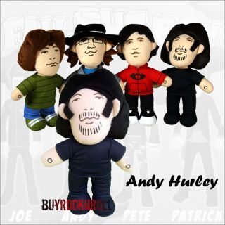 Out Boy 12 Talking Plush Doll ANDY HURLEY   New (Andrew Figure FOB