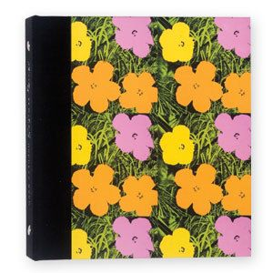 Andy Warhol Pop Art Address Book 4 Ring Binder