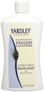 Yardley London Antibacterial Liquid Hand Soap Flowering English