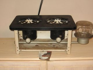 ANTIQUE KEROSENE COOK STOVE SAVOIL NO W2 UNITED STOVE CO RARE STOVE