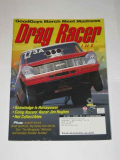 Drag Racer Magazine July 2003 Angelle Savoie