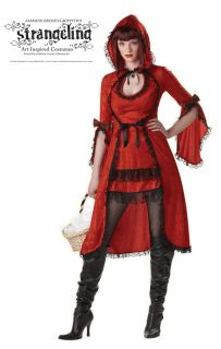 SEXT Adult Strangeling Little Red Riding Hood Costume