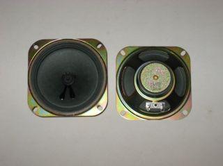 ANTIQUE & VINTAGE RADIO STEREO REPLACEMENT SPEAKER 4   8 OHM