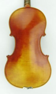 Masterr 4 4 Violin Labeled Antonio Stradivarius 1718 One Piece Back