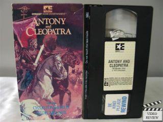 Antony and Cleopatra VHS Charlton Heston Hildegard Neil Eric Porter