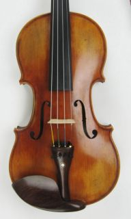 Fine 4 4 Violin Labeled Antonio Stradivarius 1698 Maurice Reynaud Hand