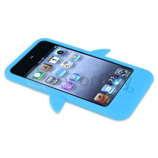 penguin silicone skin case compatible with apple ipod touch generation