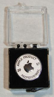 Apple Computer Apple Product Professional 2012 Pin Award Certification